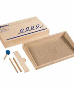 Sand writing - Educo