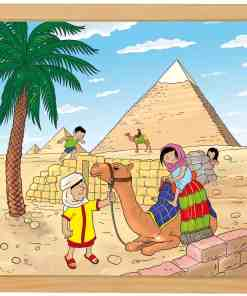 Wonders of the world puzzle: Pyramids - Educo