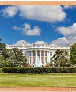 USA puzzle: the White House - Educo