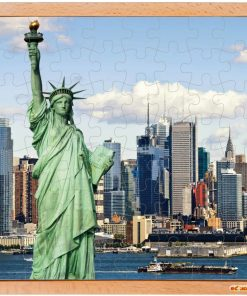 USA puzzle: Statue of liberty - Educo
