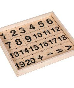 Nombres magiques: tampons interactive pour tablette - Educo