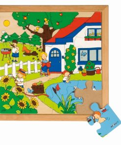 Seasons puzzle 1 - summer - Educo