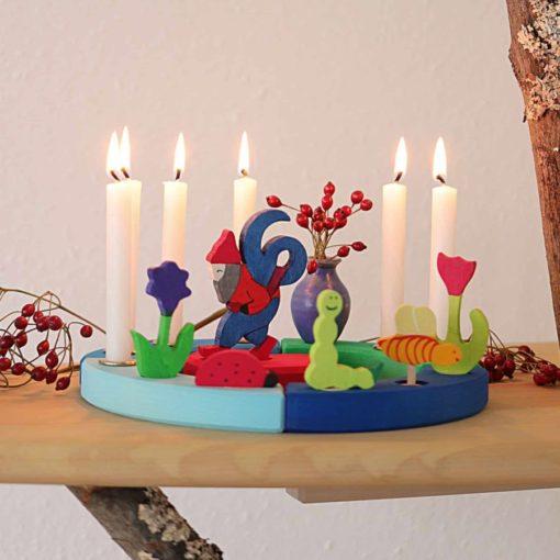 Aluminium Candle Holder Gluckskafer Sustainable Educational Products Ecological Toys