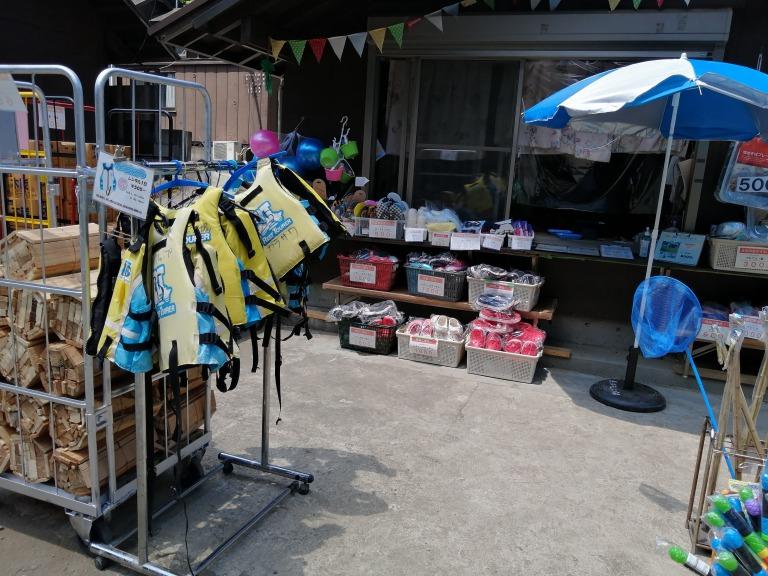 唐沢キャンプ場 売店②
