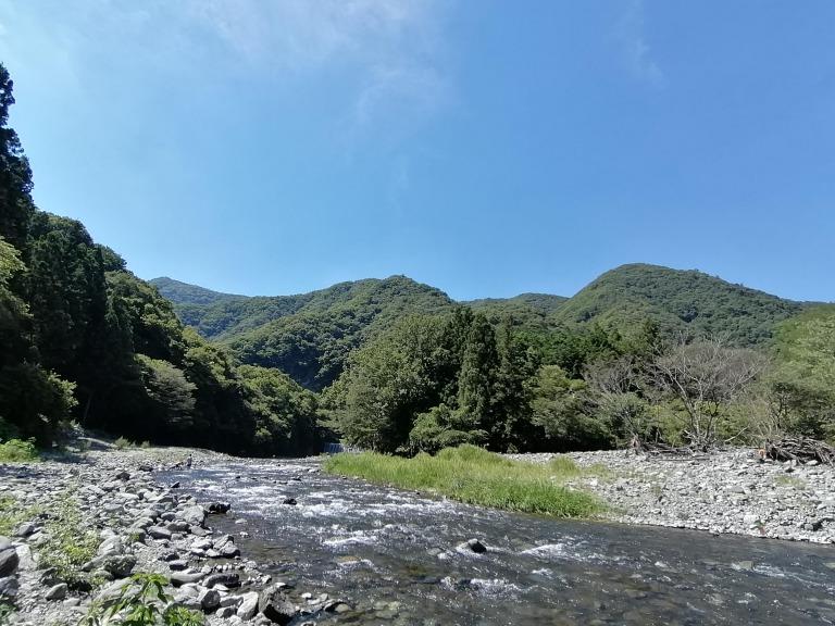 このまさわキャンプ場 道志川