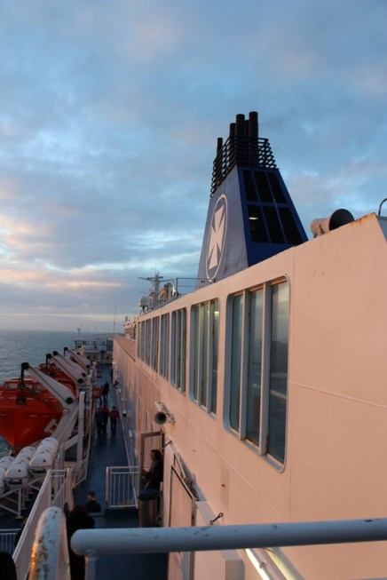 Abendstimmung King Seaways DFDS