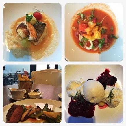 Köstliches Essen im Hotel Restaurant Belmonte