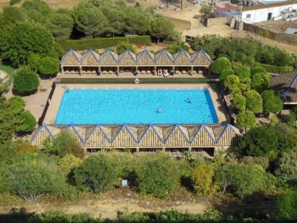 Parardor Carmona - Blick auf den Pool
