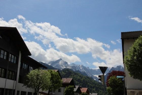 Sieht man viele Berge