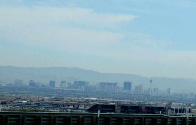 Las Vegas vom Highway