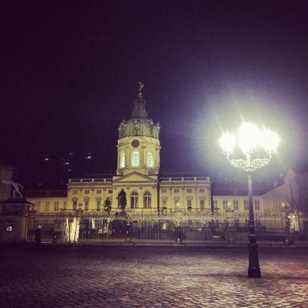 Schloss Charlottenburg bei Nacht