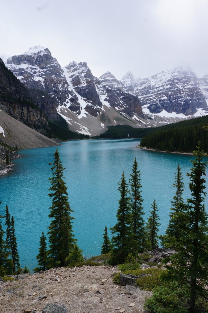 Moraine Lake am Valley of the Ten Peaks