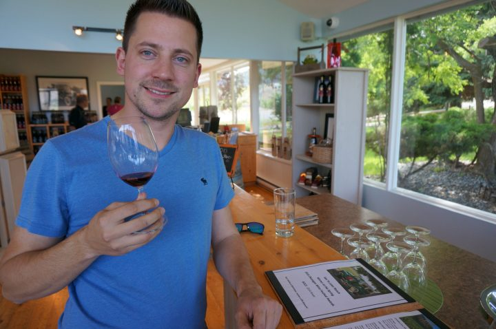 Winetasting im Okanagan Valley
