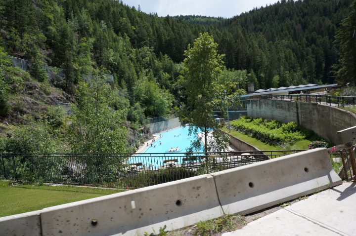 Radium Hot Springs im Banff Nationalpark