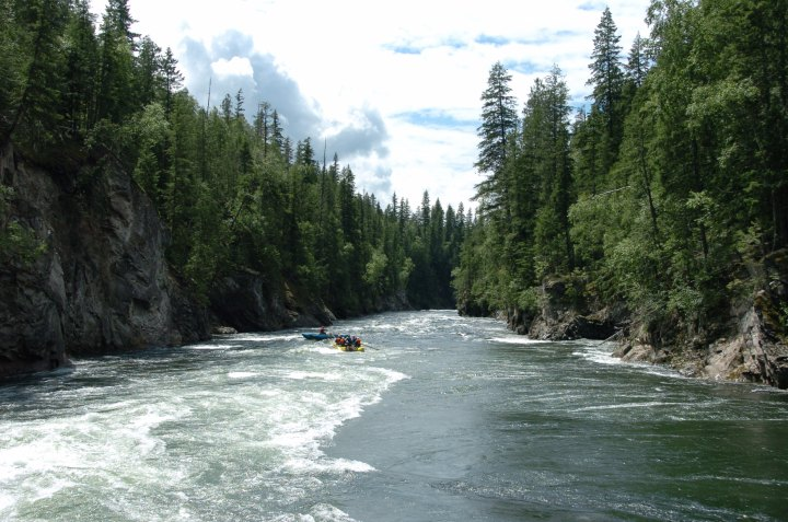 Relax & Enjoy: Clearwater River by boat