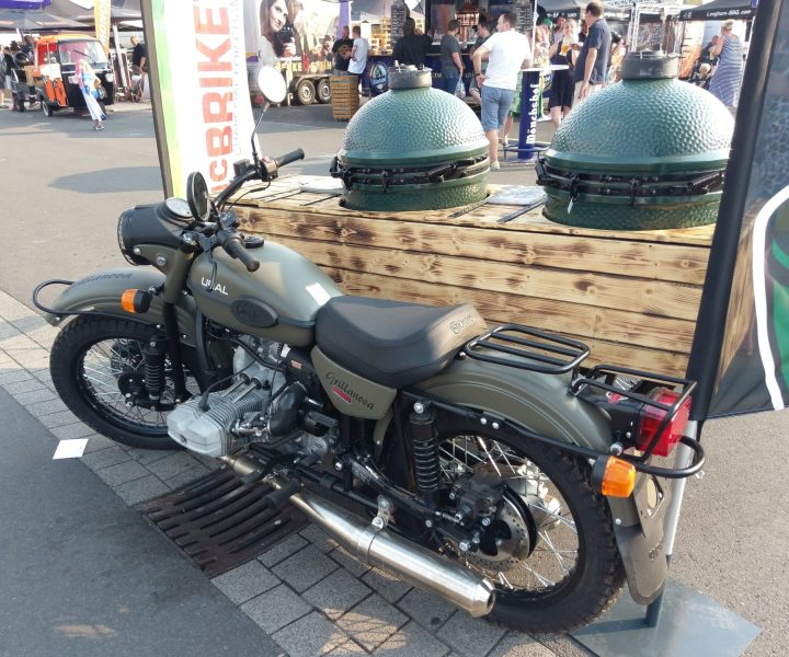 BBQ-Motorcycle Monolith
