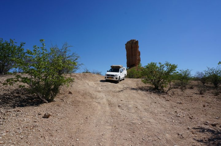 Offroad Trail Fingerklippe