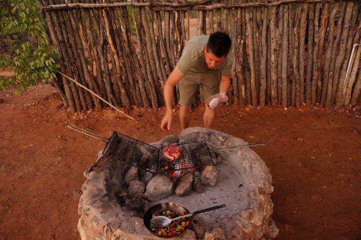 Grillen Namibia