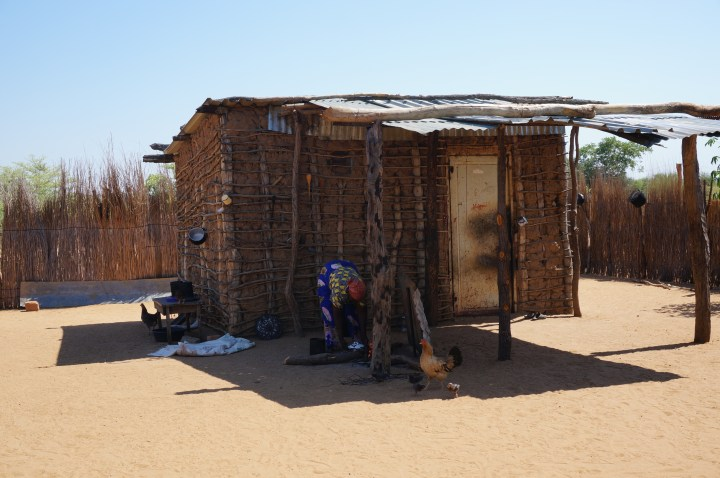 traditionelles Dorf Namibia