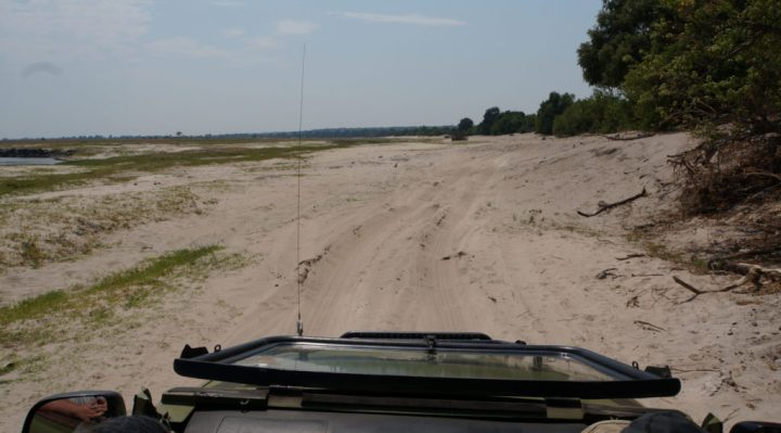 Road Conditions Chobe National Park