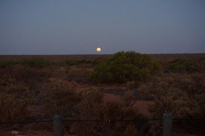 Mond Sterne Australien
