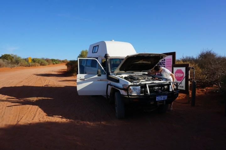Toyota Landcruiser Westaustralien