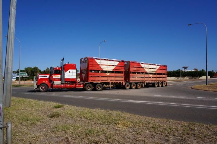 Roadtrain Australien
