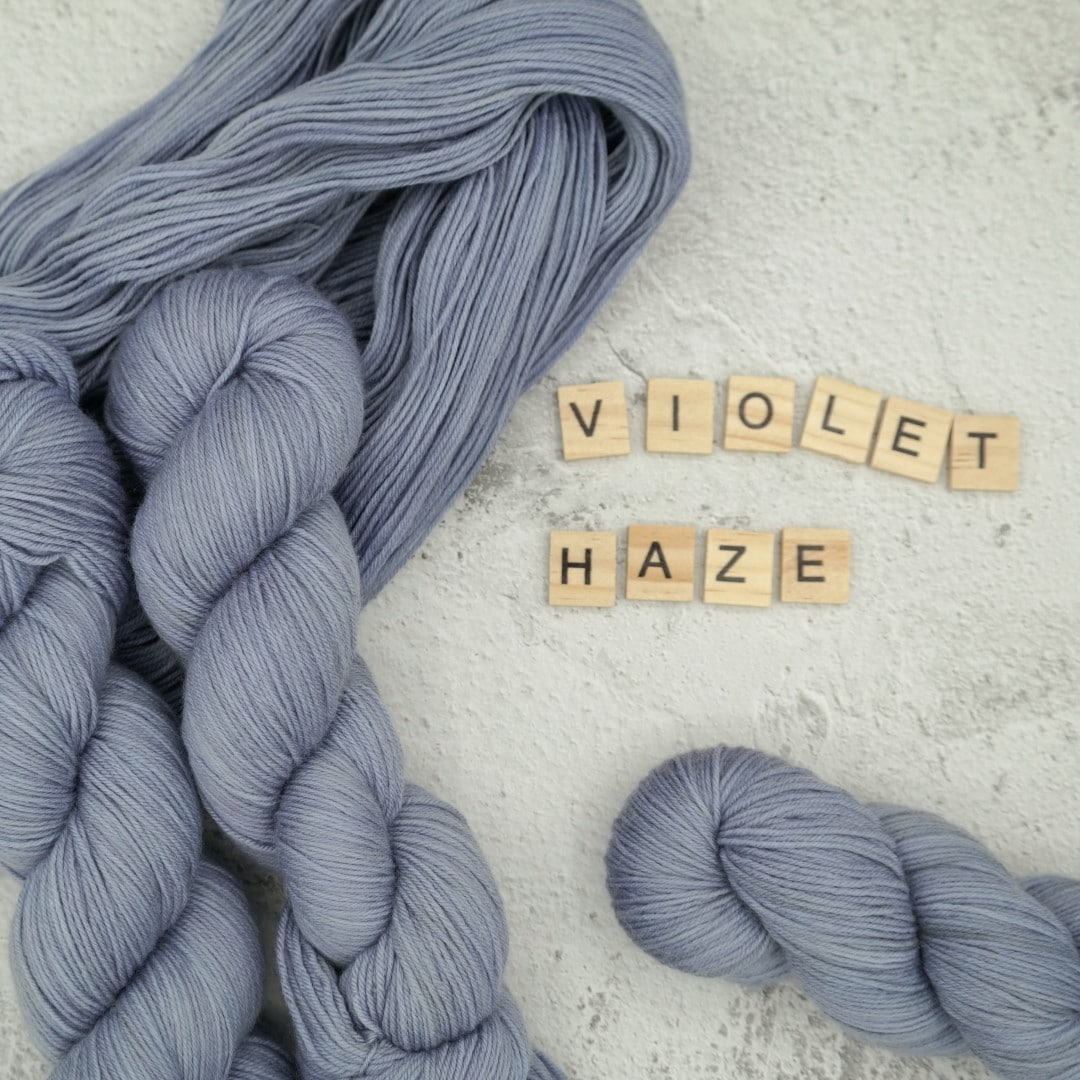 Violet Haze - MÉRINOS SUPERWASH - Fingering