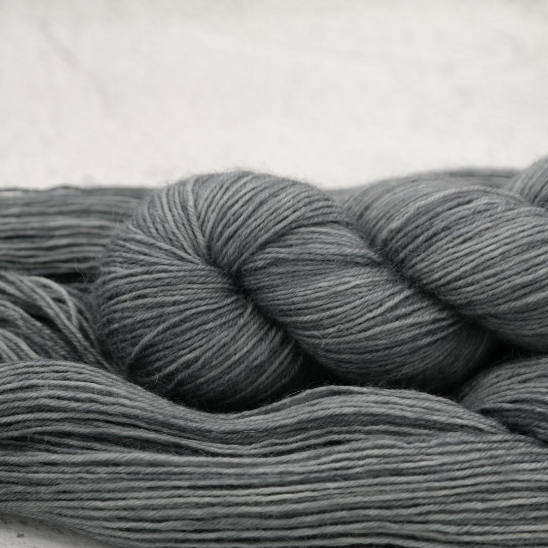 Asphalte - Bluefaced Leicester - Fingering | Teinturlurée