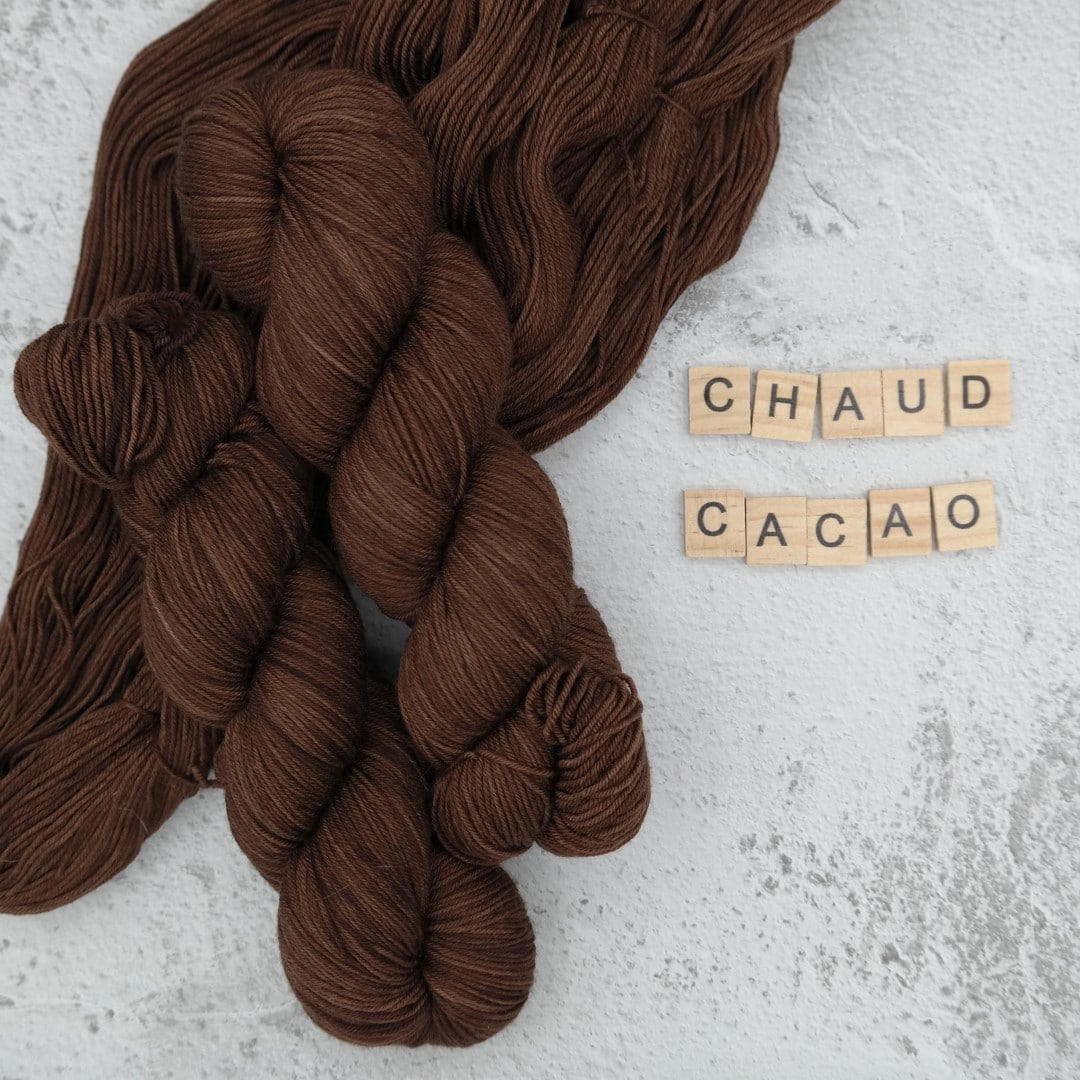 Chaud Cacao - MÉRINOS SUPERWASH - Fingering