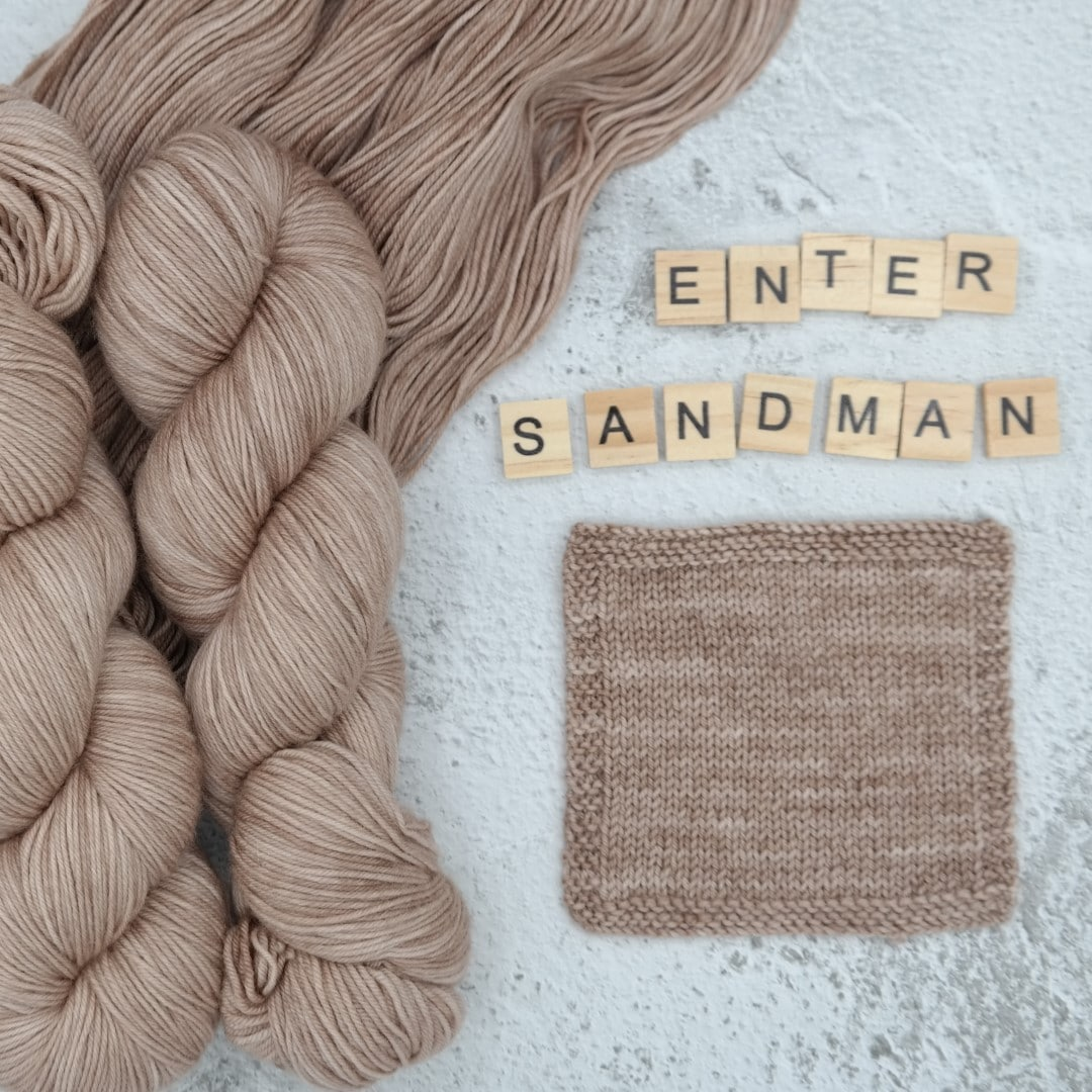 Enter Sandman - MÉRINOS SUPERWASH - Fingering