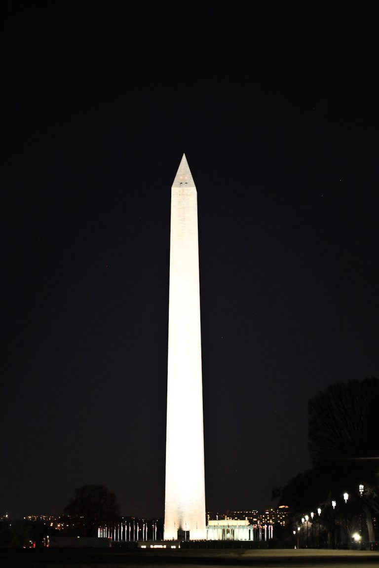 Washington Monument by Night