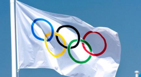 Drapeau Olympique Londres 2012