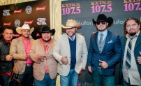 Bajo Zero at 2015 Tejano Music Awards Purple Carpet (Photo by Ryan Bazan / Tejano Nation)