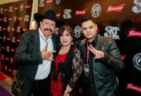 Roberto Pulido & Jimencio at 2015 Tejano Music Awards Purple Carpet (Photo by Ryan Bazan / Tejano Nation)