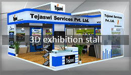 3D Exhibition Stall Design INDIA