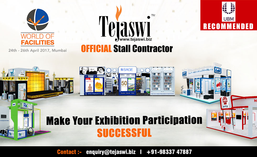 World of Facilities Official Exhibition Stall Designer & Fabricator