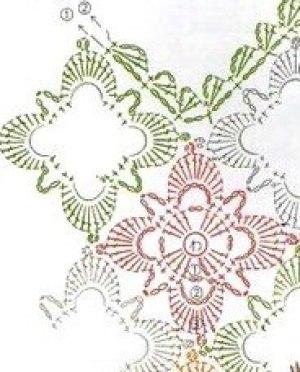 Bolso crochet tenida informal1