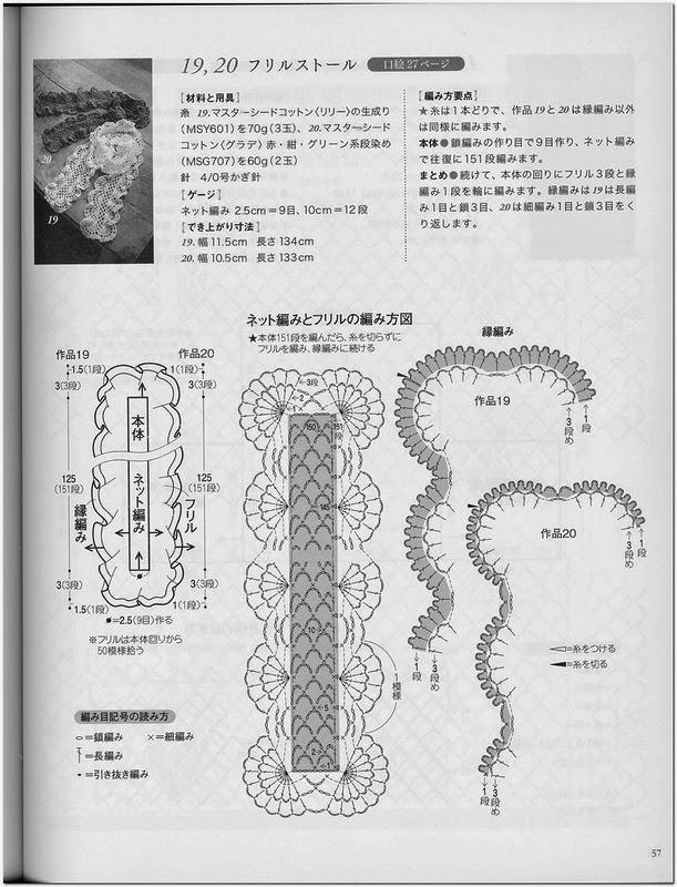 Bufanda en crochet muy elegante1
