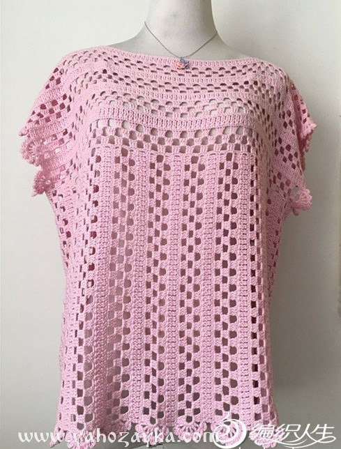 Camisola crochet sencilla