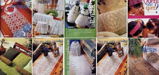 Patrones Crochet para el Hogar