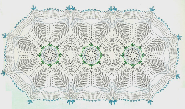 Tapete Crochet Flor Camelia1
