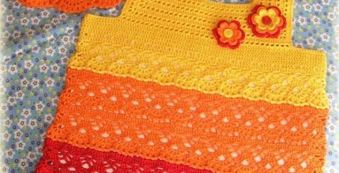 Blusa y capelina en crochet niña con patrón