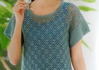 Crochet blusa sencilla y fácil