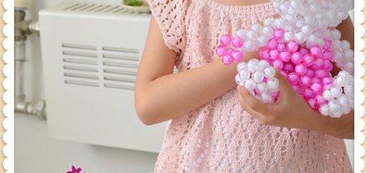 Crochet túnica niña patrones