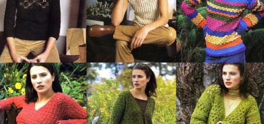 Esquemas ropa en crochet de invierno