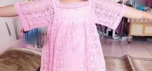 Ganchillo blusa niña esquemas