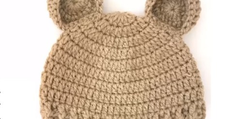 Como tejer un gorro a crochet