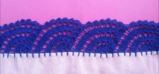 orilla a crochet
