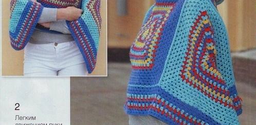 Ponchos de crochet